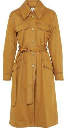 Olesia Cotton-blend Gabardine Trench Coat