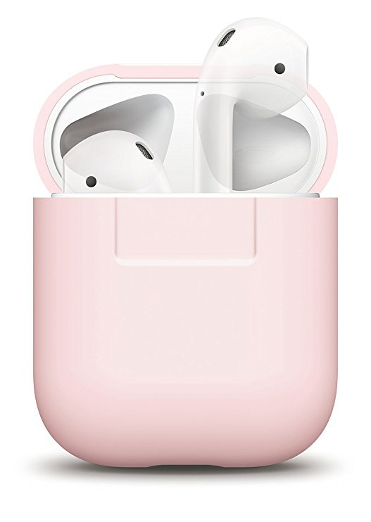 Amazon.com: elago AirPods Silicone Case [Lovely Pink] - [Extra Protection] for AirPods Case: Home Audio & Theater