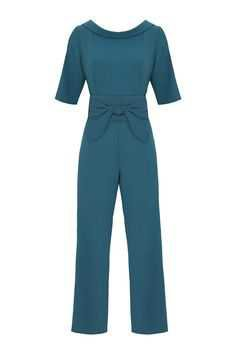 Marion Murphy Cooney Green Jumpsuit