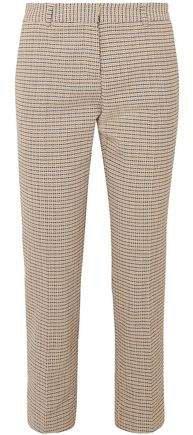 Moustique Cotton-tweed Straight-leg Pants