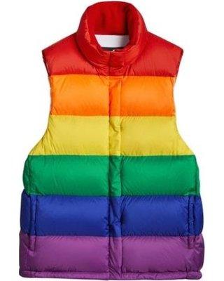 Burberry Rainbow Down Puffer Vest