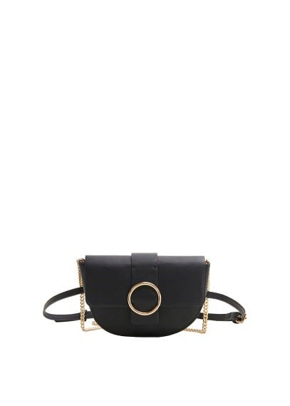MANGO Faux-leather bag