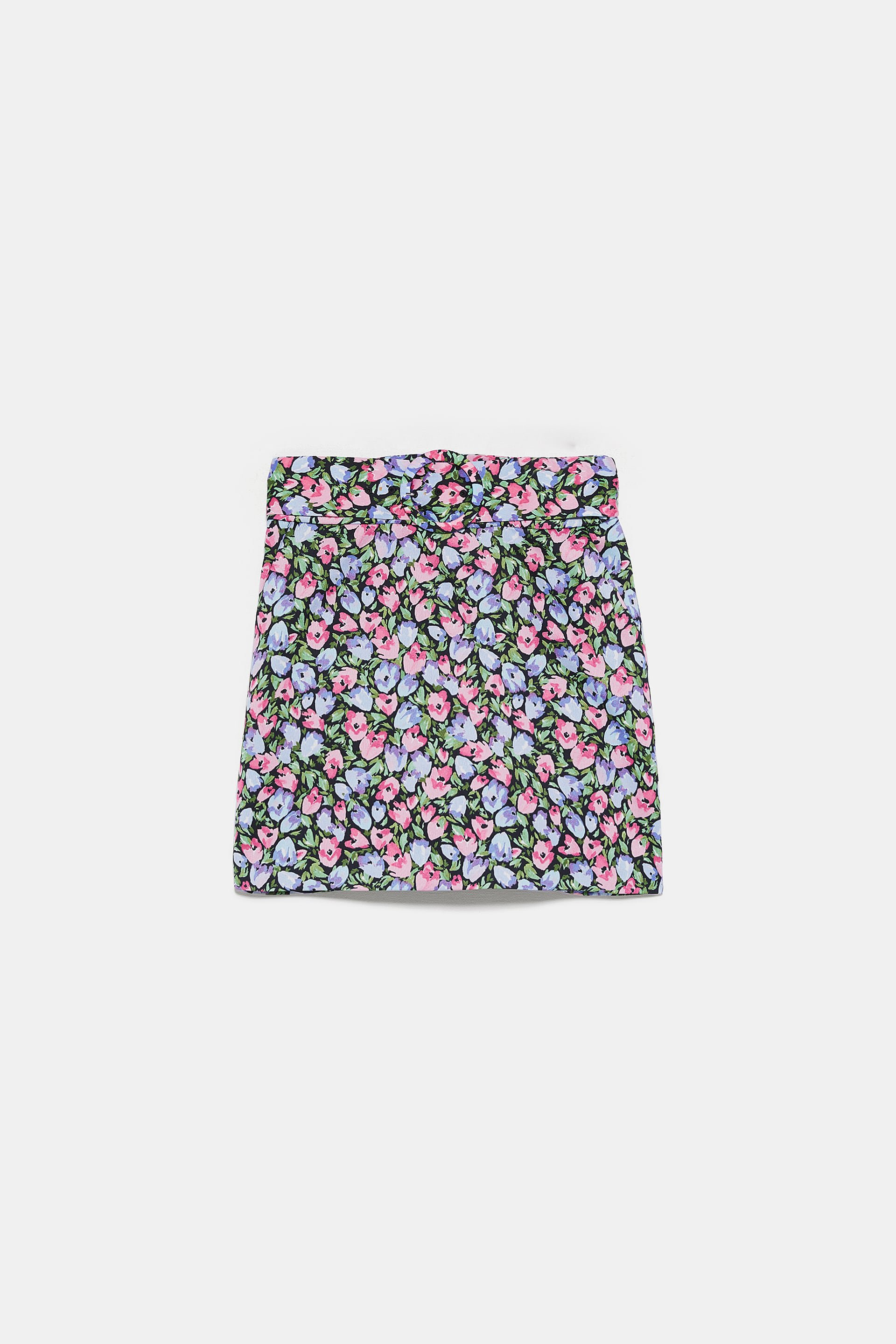 FLORAL PRINTED SKIRT - View All-SKIRTS-WOMAN | ZARA United States