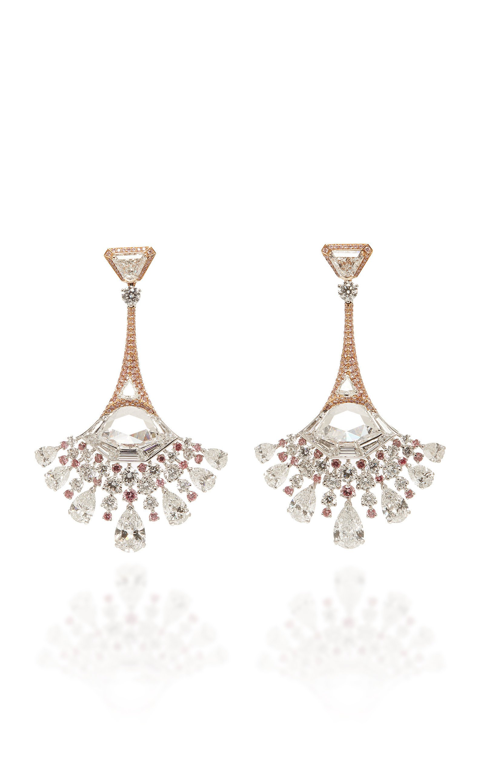David Morris Peacock Earrings