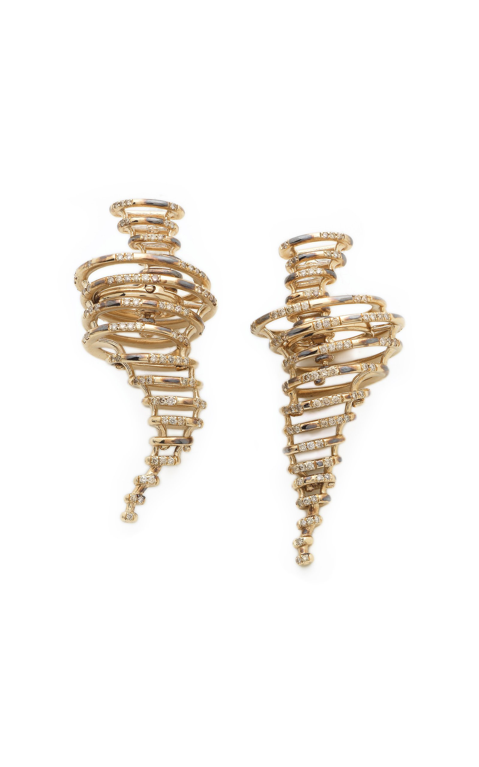 Bibi van der Velden Tornado Earrings