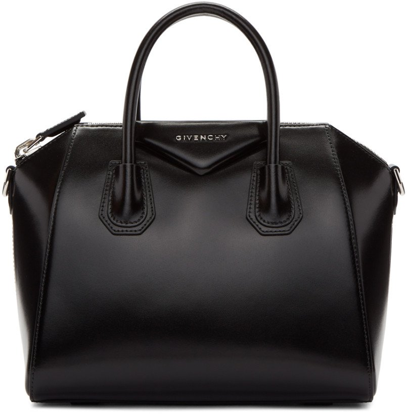 Givenchy: Black Small Antigona Bag
