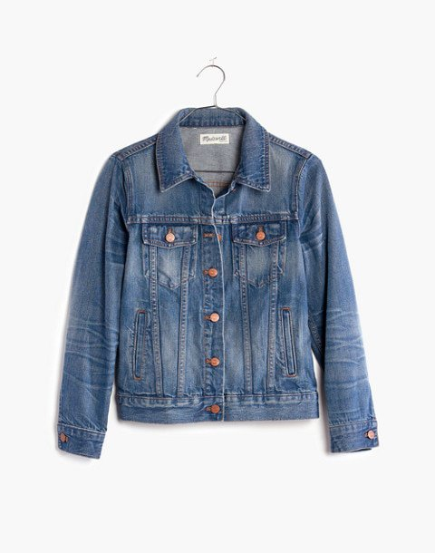 The Jean Jacket in Pinter Wash--Madewell