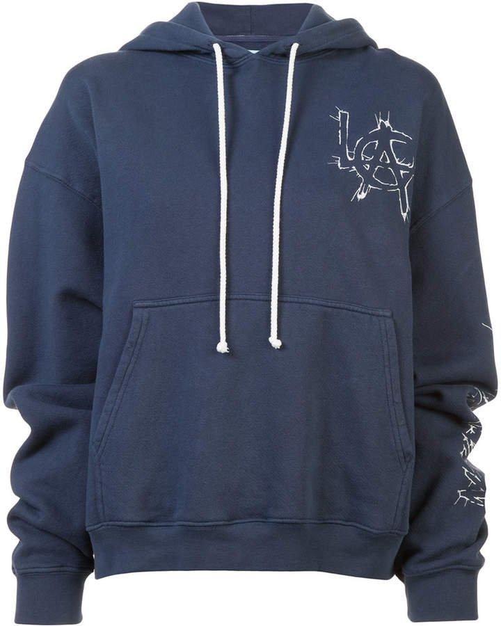 Adaptation L.A printed hoodie