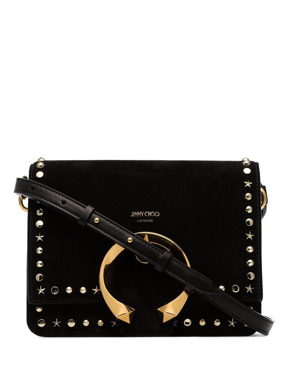 Jimmy Choo Madeline buckle-embellished Shoulder Bag - Farfetch
