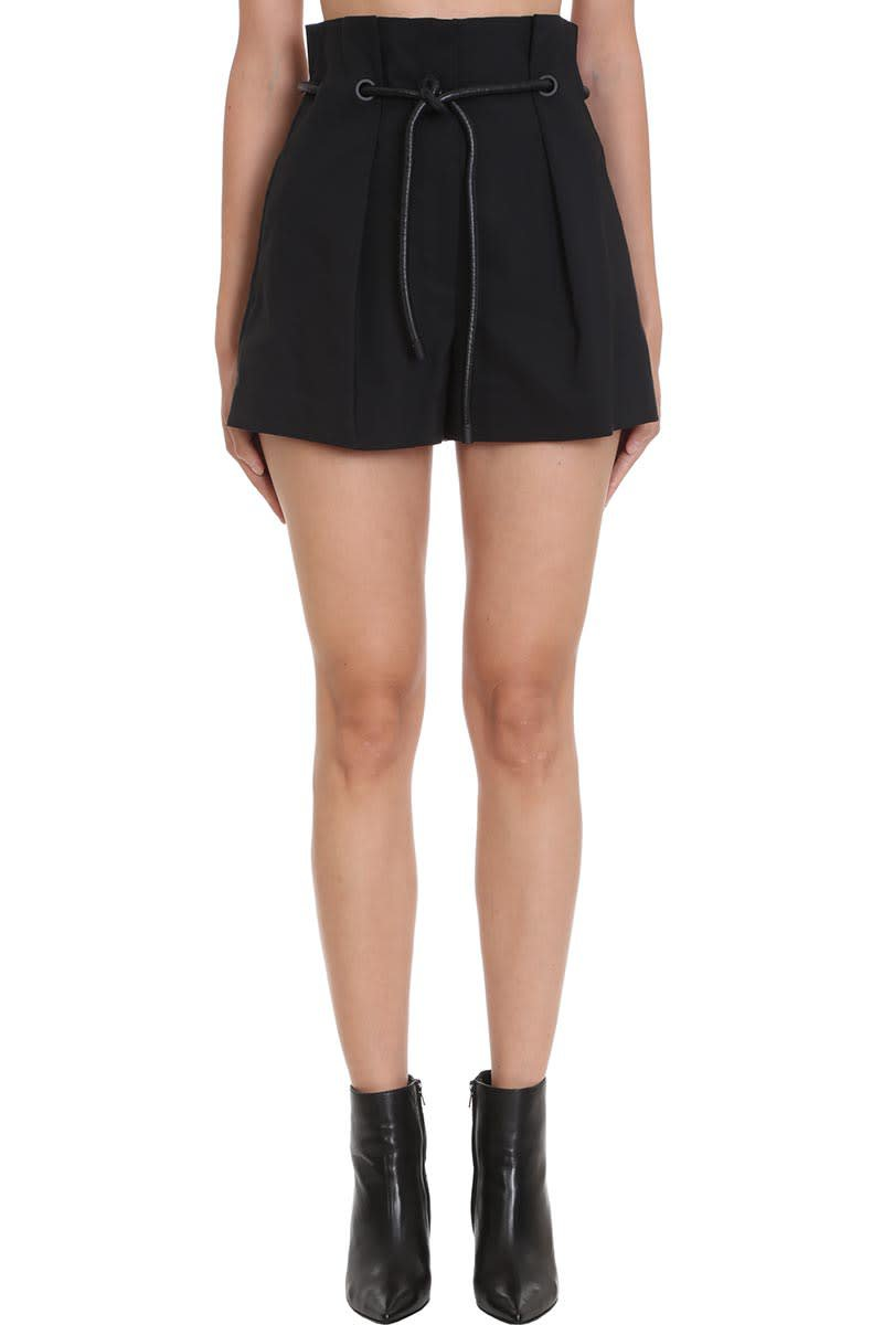 3.1 Phillip Lim Shorts In Black Cotton