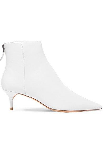 Alexandre Birman | Kittie leather ankle boots | NET-A-PORTER.COM