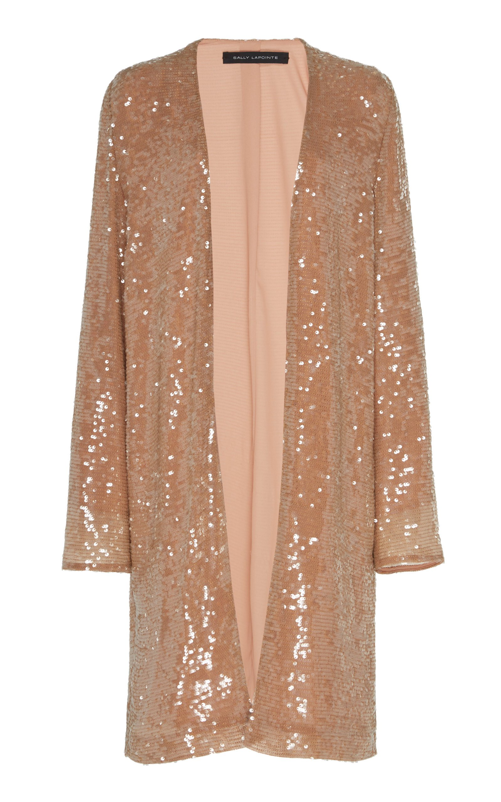 Sally LaPointe Sequin Viscose Duster