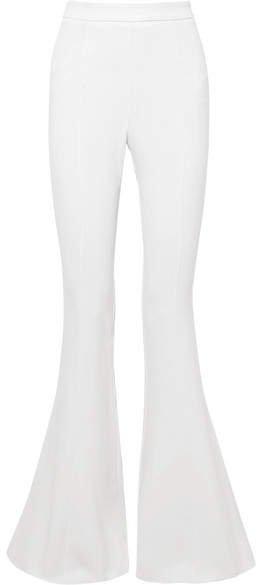 Cushnie - Stretch-crepe Flared Pants - White