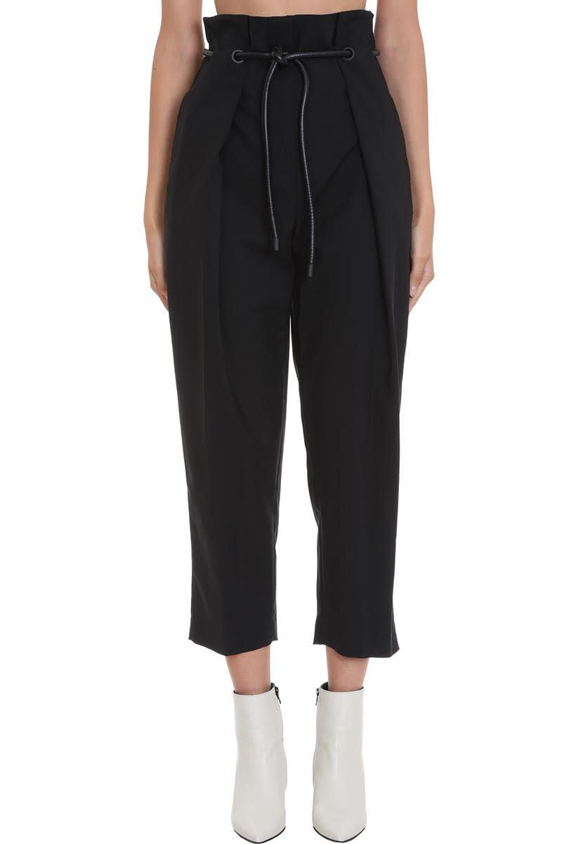 3.1 Phillip Lim Pants In Black Cotton