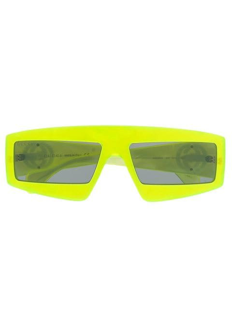 Gucci Eyewear Neon Sunglasses - Farfetch