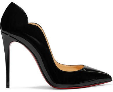 Hot Chick 100 Patent-leather Pumps - Black