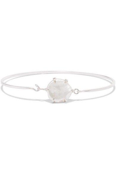 Chan Luu | Silver-tone pearl cuff | NET-A-PORTER.COM