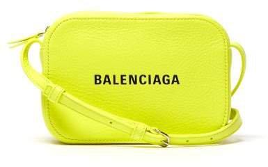 Everyday Camera Xs Leather Cross Body Bag - Womens - Yellow