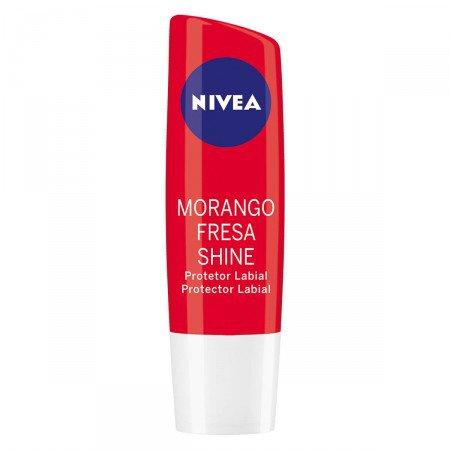 Protetor Labial Fruit Shine Morango Nivea
