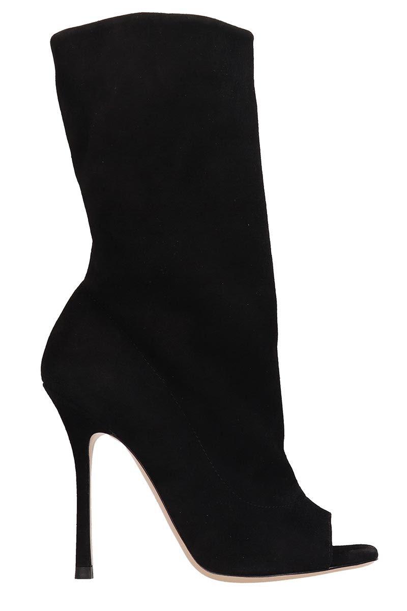 Marc Ellis Black Suede Ankle Boots