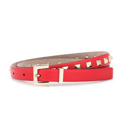 Valentino Garavani Rockstud leather belt