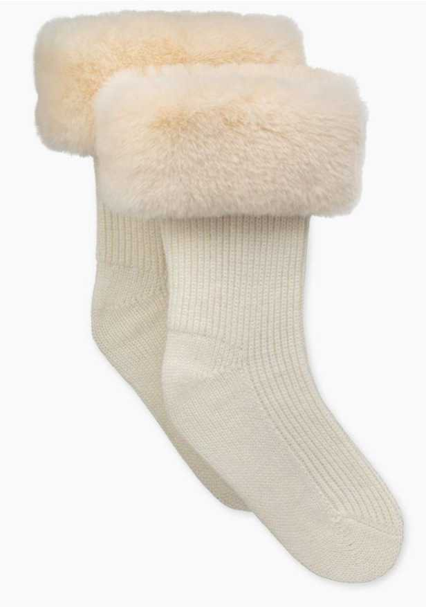 Ugg faux fur boot toppers