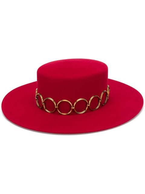 Saint Laurent Andalusian Felt Hat - Farfetch