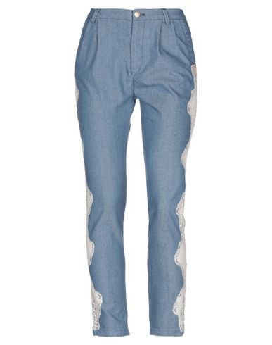 History Repeats Denim Pants - Women History Repeats Denim Pants online on YOOX United States - 42728095AH