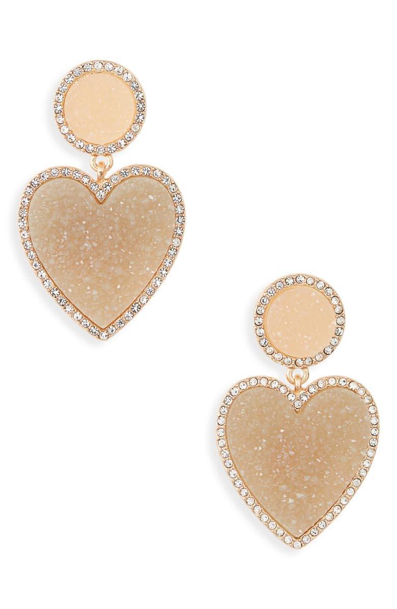BaubleBar Asimina Drusy Drop Earrings | Nordstrom