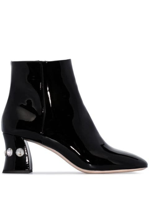 Miu Miu embellished 65mm ankle boots £785 - Shop Online - Fast Global Shipping, Price