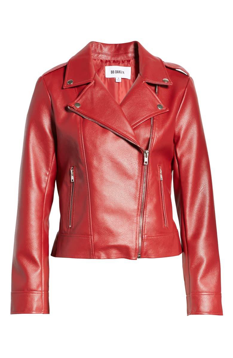 BB Dakota Faux Leather Moto Jacket | Nordstrom