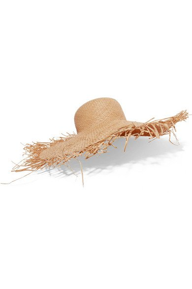 CLYDE | Frayed straw hat | NET-A-PORTER.COM