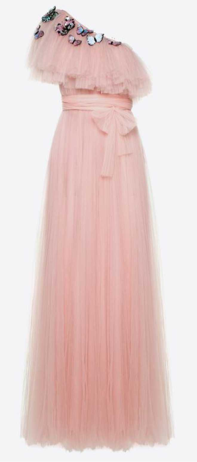 pink Valentino gown