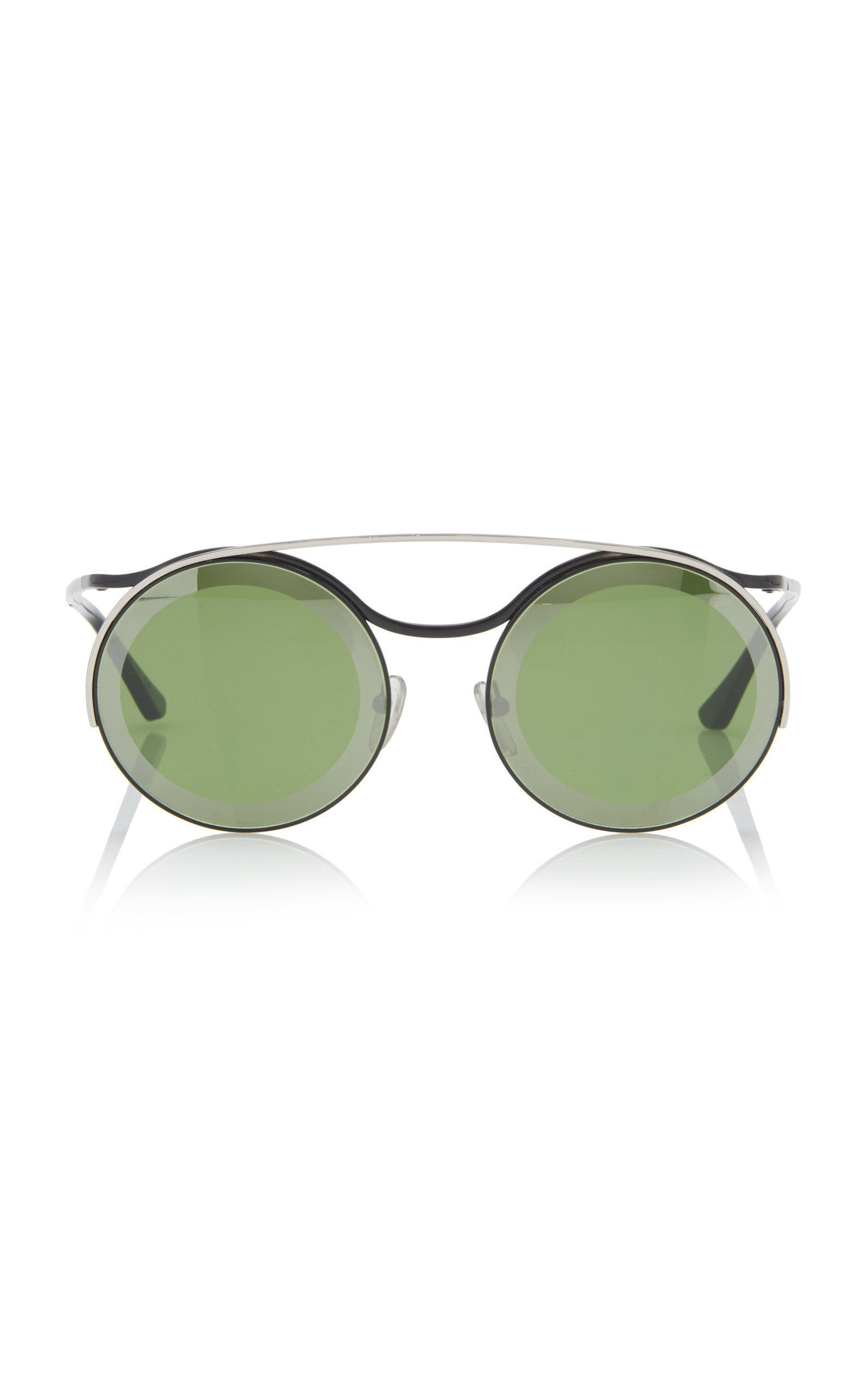 Marni Aviator-Style Round-Frame Sunglasses