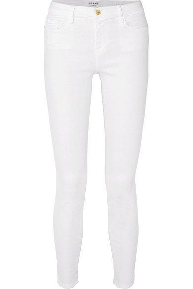 FRAME   Le Color mid-rise skinny jeans   NET-A-PORTER.COM