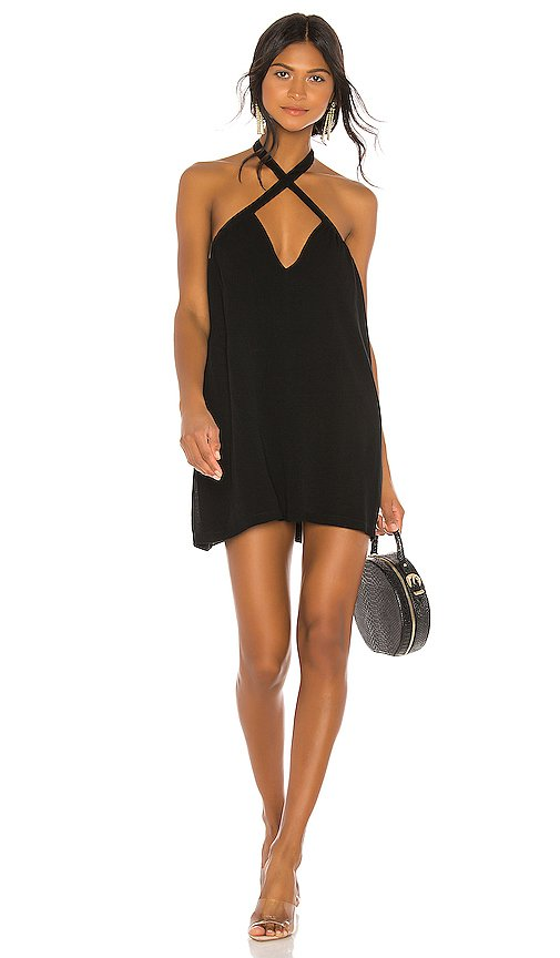 superdown Trina Shift Dress in Black mini | REVOLVE