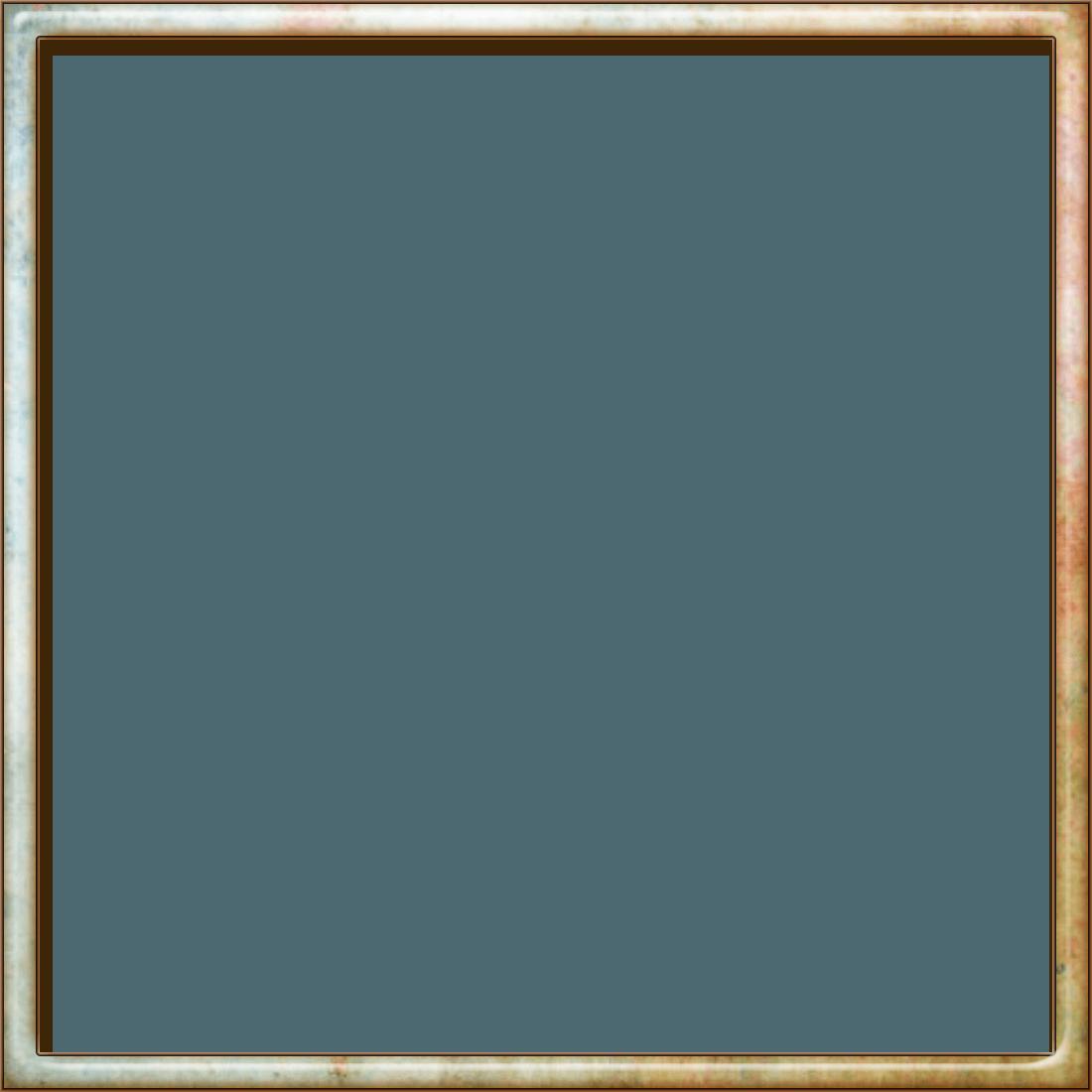 Square frame natural