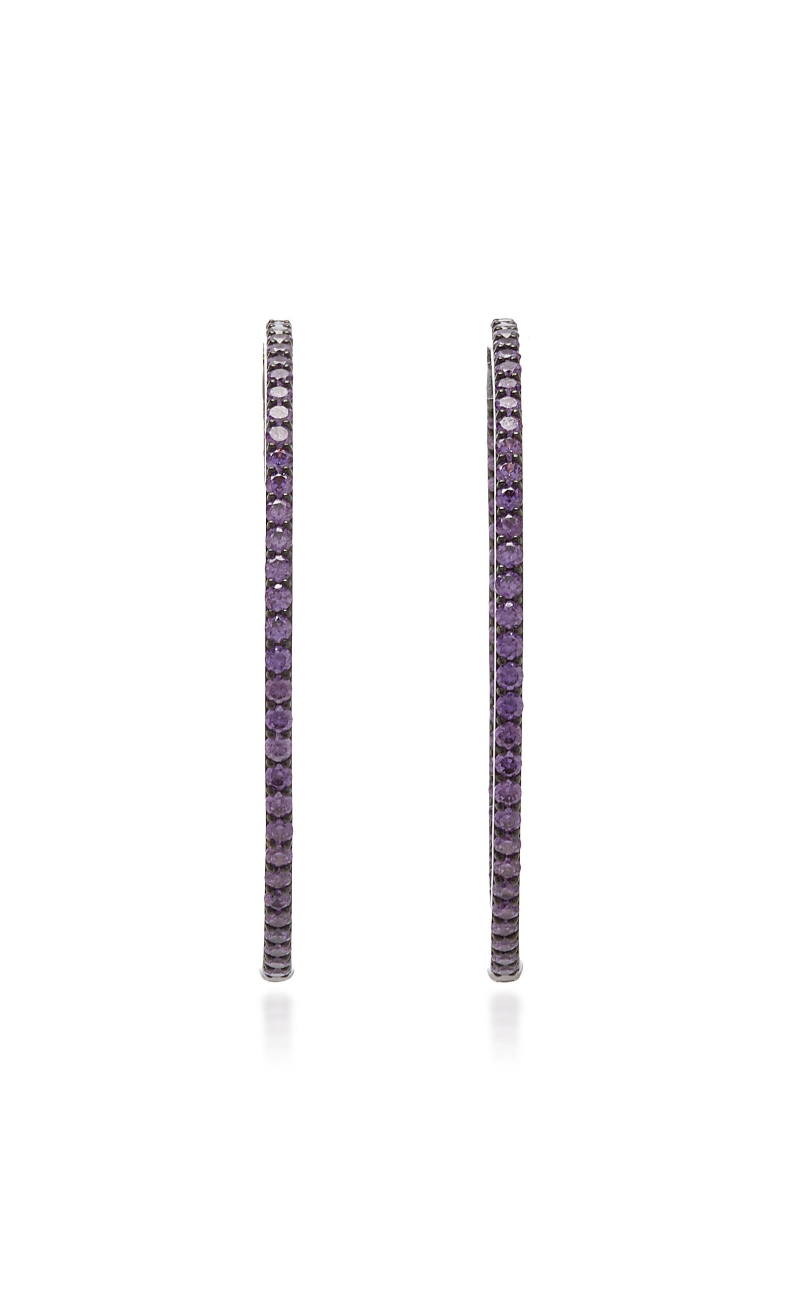 Lynn Ban Jewelry SMALL THICK HOOPS