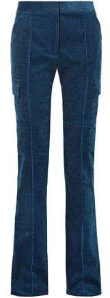 Cotton-corduroy Straight-leg Pants