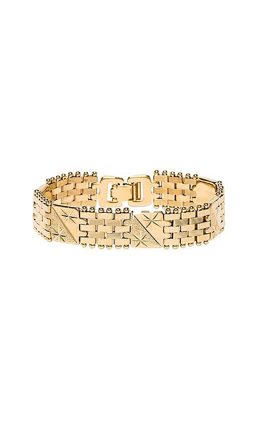 Vanessa Mooney The Members Only Bracelet in Gold | REVOLVE