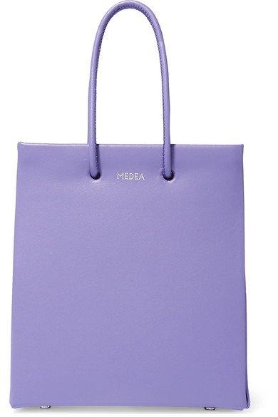 MEDEA   Prima Short leather tote   NET-A-PORTER.COM