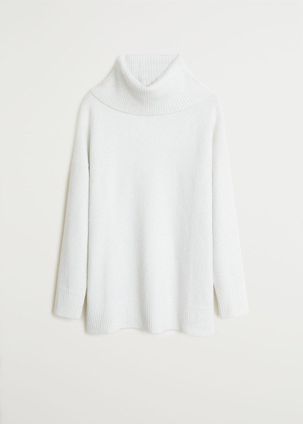 Funnel neck sweater - Women | Mango USA