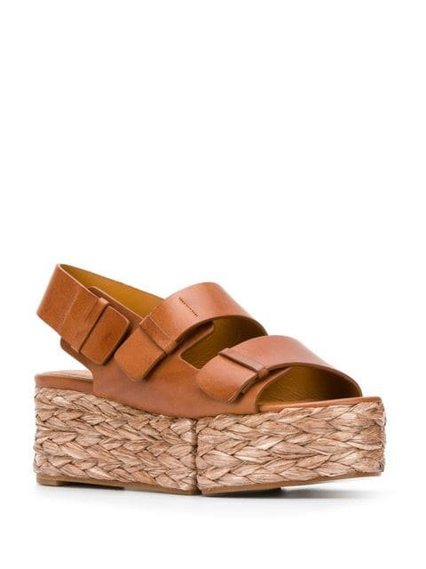 Clergerie Atoll wedge sandals