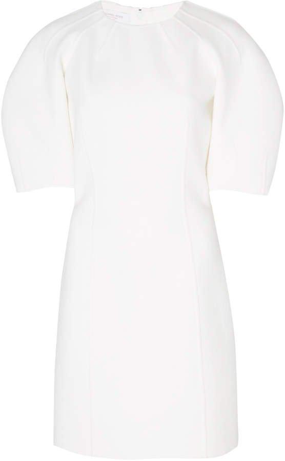 Wool-Stretch Mini Dress