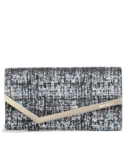 Emmie sequinned clutch