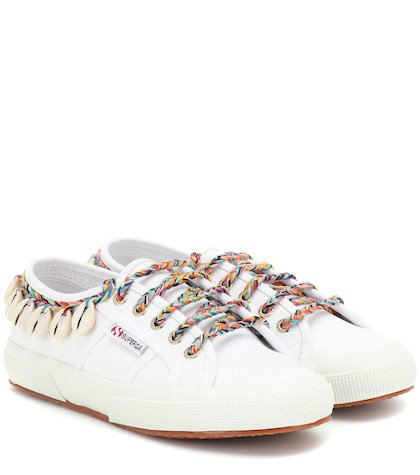 x SUPERGA® embellished sneakers