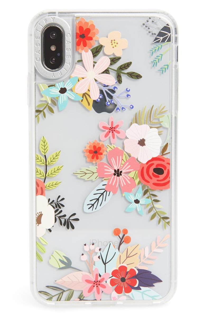 Casetify Floral Collage Translucent iPhone X/Xs, XR & X Max Case