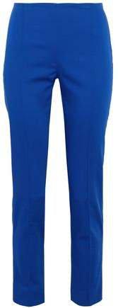 Cotton-blend Slim-leg Pants