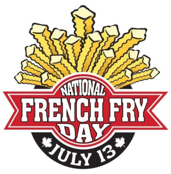 national french fries day - Google Search