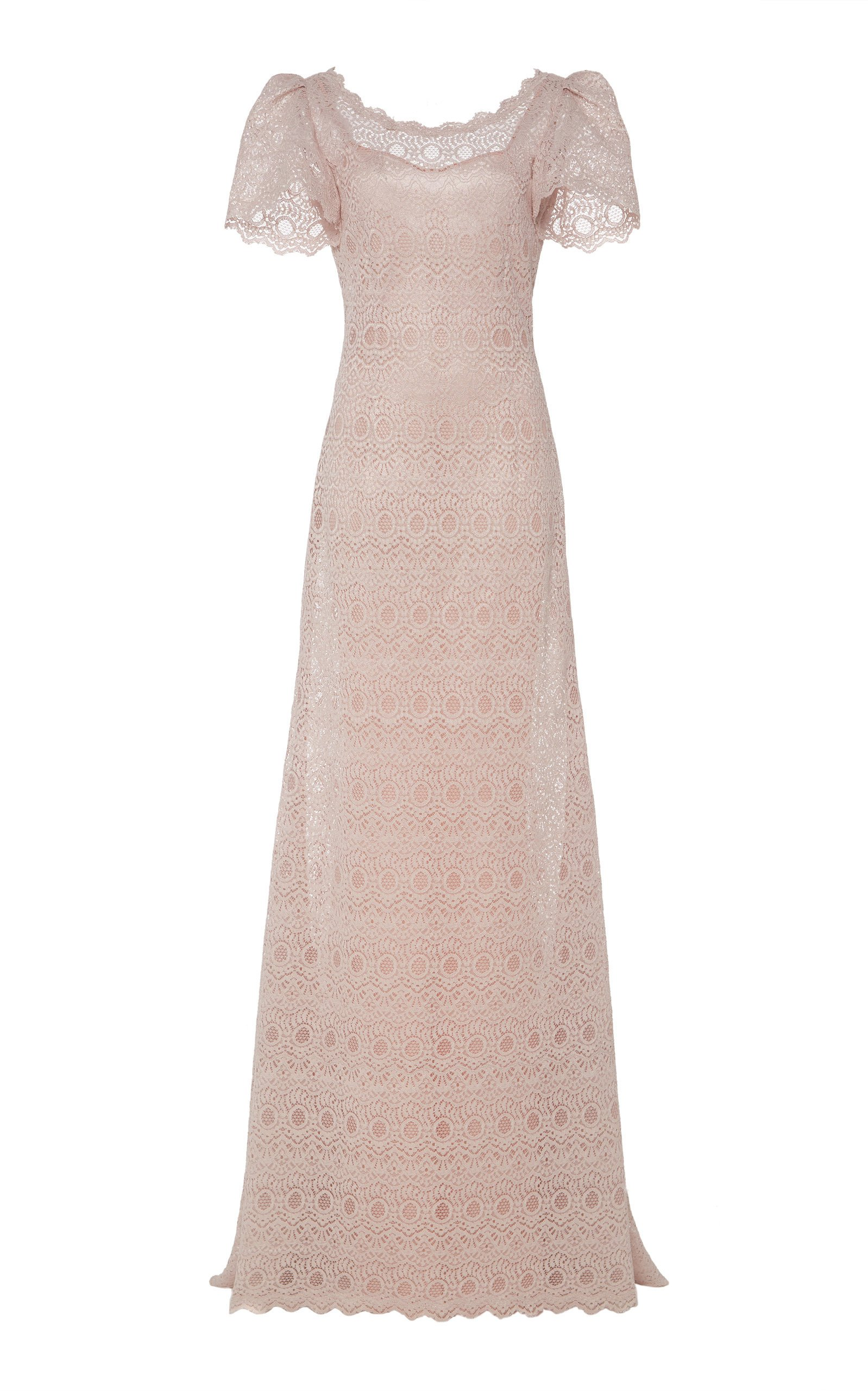 Luisa Beccaria Lace Gown